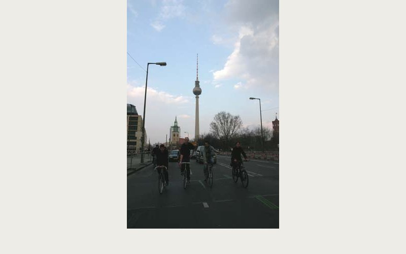 Critical Mass am Alexander Platz