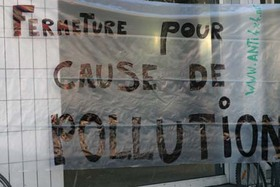 Fermeture pour cause de pollution